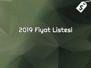 Ukrayna Üniversiteleri 2019 Fiyat Listesi