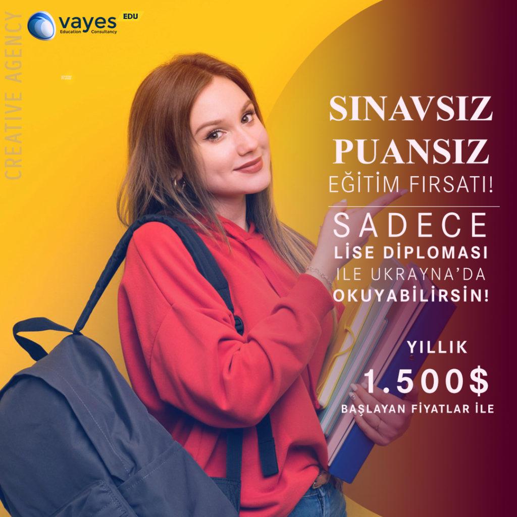 Ukrayna üniversiteleri fiyatları güncel